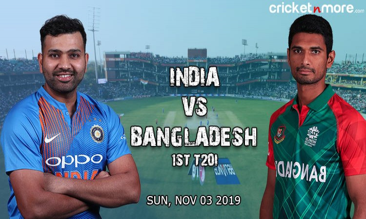 India vs Bangladesh 1st T20I