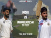 India vs Bangladesh 1st Test
