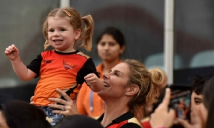 Warner's daughter wants to be Kohli Images