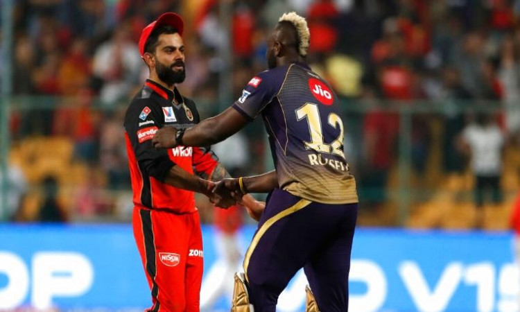 Virat Kohli and Andre Russell
