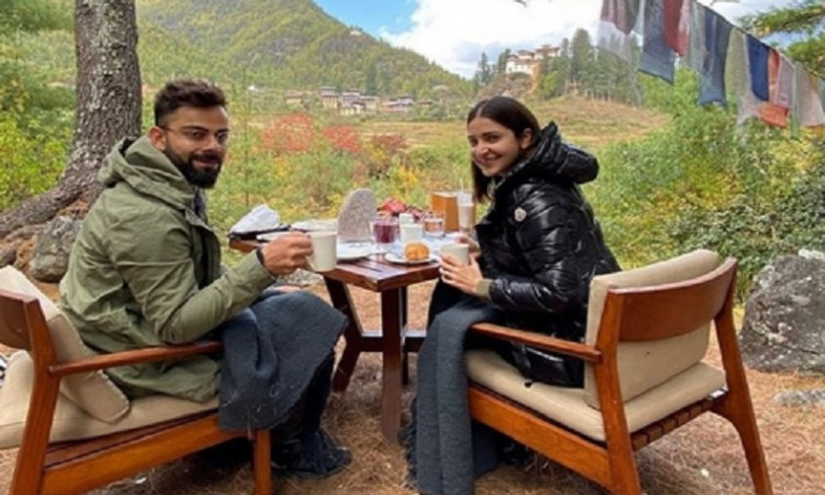 Virat Kohli with Anushka