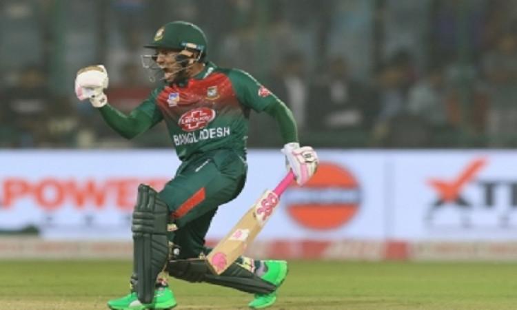 पहले टी-20 में भारत को हराने के बाद मुश्फीकुर रहीम  ने कहा, इस जीत के हमारी खुशियां लौटेगी ! Images