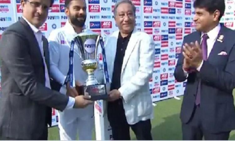 सौरव गांगुली के नेतृत्व में भारतीय क्रिकेट में सकारात्मक बदलाव होंगे: विराट कोहली Images