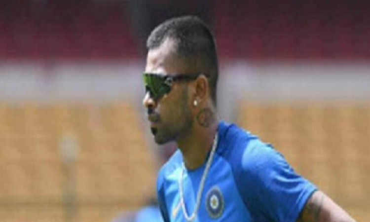 Hardik Pandya happy to be back on the field post surgery Images