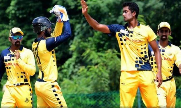 मुश्ताक अली ट्रॉफी : विदर्भ 55 पर ढेर, तमिलनाडु की बड़ी जीत Images