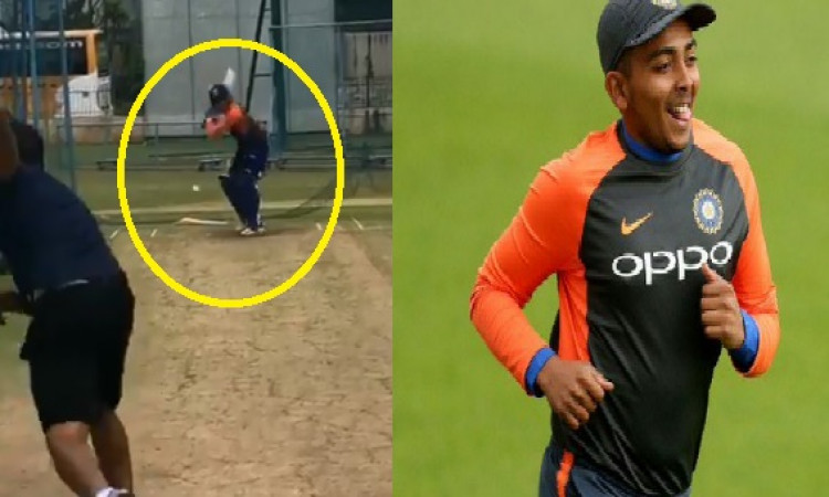 Will be back in action soon: Prithvi Shaw Images