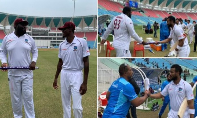 Windies secure comprehensive win over Afghanistan in Lucknow Images