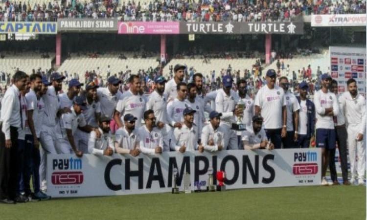 भारत का टेस्ट चैम्पियनशिप में पहला स्थान बरकरार, पूरी डिटेल्स ! Images
