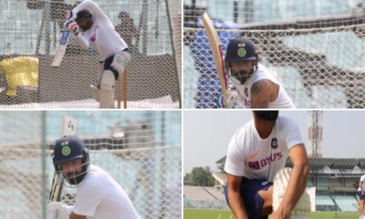 कोलकाता टेस्ट : ऐतिहासिक दिन-रात टेस्ट में भारत की नजर क्लीन स्वीप पर (प्रीव्यू) Images