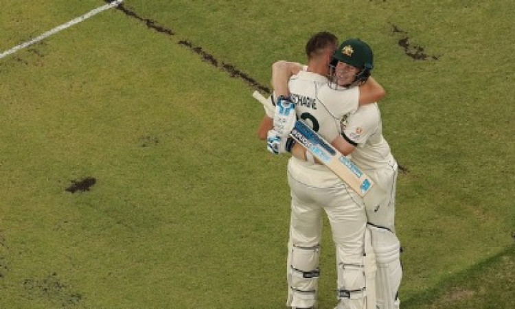 Labuschagne hits ton, Wagner takes 2 as Aus reach 248/4 Images