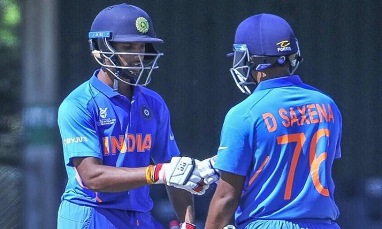 Divyaansh Saxena and N Tilak Varma