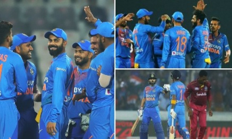 Ind-WI 2nd T20I: West Indies choose to bowl first Images
