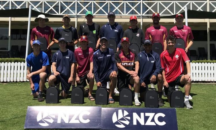 New Zealand U-19 World Cup Team