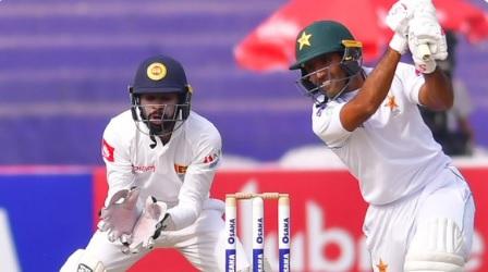 श्रीलंका ने अपने गेंदबाजों के शानदार प्रदर्शन के दम पर पाकिस्तान की पहली पारी 191 रन पर समेट दिया Im
