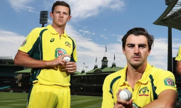 Pat Cummins and Josh Hazlewood