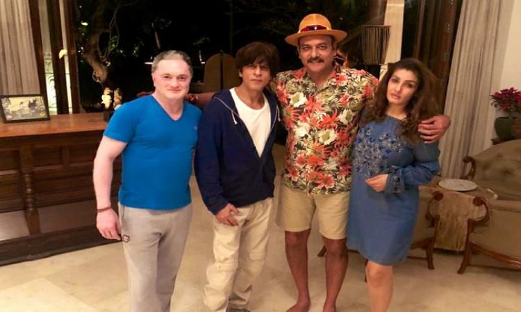 Ravi Shastri and SRK