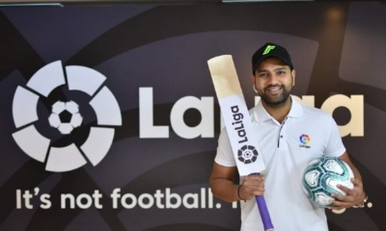 Rohit becomes LaLiga's first-ever brand ambassador in India Images