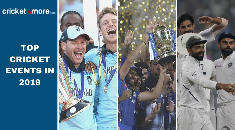 Top Cricket Moments Of 2019, Recap Images