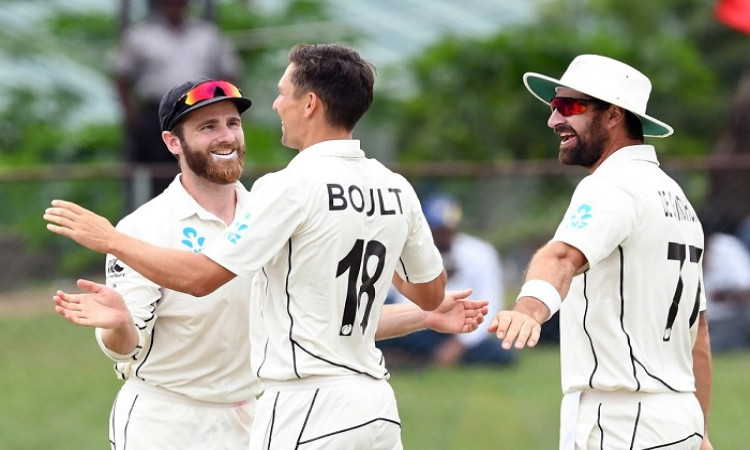 Trent Boult and Colin de Grandhomme