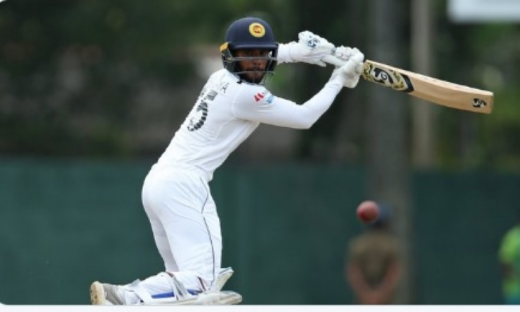 Dhananjaya helps Lanka reach 263/6 on Day 2 against Pak Images