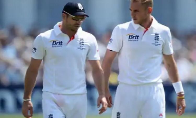 साउथ अफ्रीका के खिलाफ दूसरे टेस्ट मैच में ब्रॉड या एंडरसन में से किसी एक को मिलेगा मौका ! Images