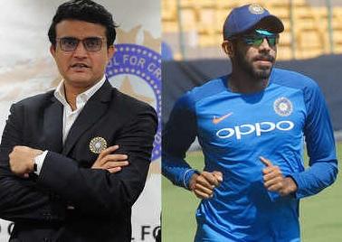 भारतीय टीम में चुने गए बुमराह को मैच खेलने से गांगुली ने किया मना ! Images
