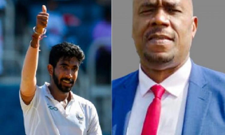 वेस्टइंडीज के पूर्व तेज गेंदबाज इयान बिशप ने माना, बुमराह पीढ़ी में एक बार मिलने वाली प्रतिभा ! Imag