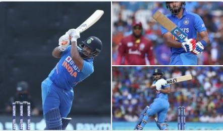 ऋषभ पंत- श्रेयस अय्यर की पारी के दम पर भारत ने वेस्टइंडीज को दिया 289 रनों का लक्ष्य !