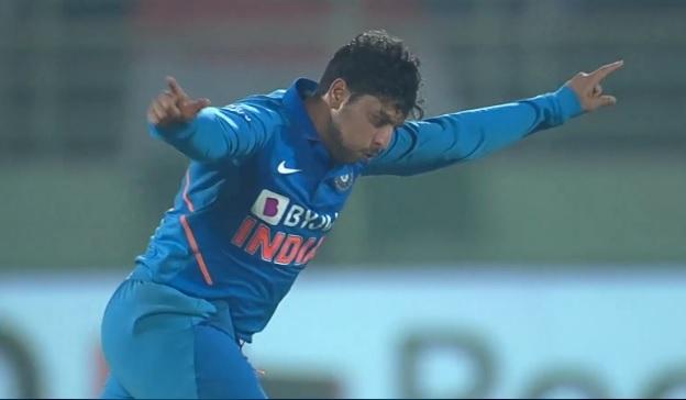 वेस्टइंडीज को 107 रनों से हारा, बल्लेबाजी के बाद कुलदीप यादव की हैट्रिक के दम पर भारत को मिली शानदार