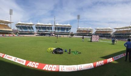 पहले वनडे में वेस्टइंडीज ने भारत के खिलाफ टॉस जीतकर पहले फील्डिंग करने का फैसला किया Images