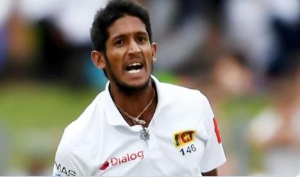 पाकिस्तान के खिलाफ दूसरे टेस्ट मैच से बाहर हुआ श्रीलंकाई टीम का यह तेज गेंदबाज Images