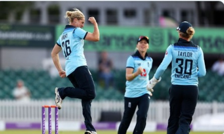 Katherine Brunt: 1st English woman to take 150 ODI wickets Images