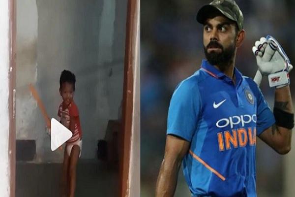 डायपर वाला बेबी क्रिकेटर को देखकर केविन पिटरसन ने कोहली को कहा, टीम में शामिल करो ! Images