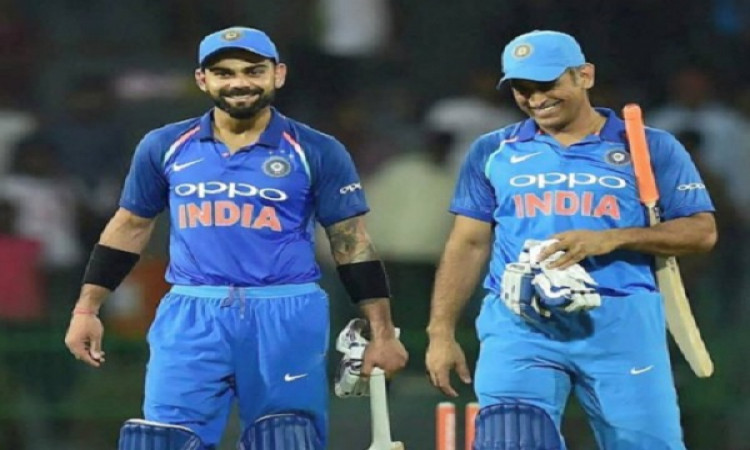 Kohli-Dhoni duo add another feather to cap, this time on social media Images