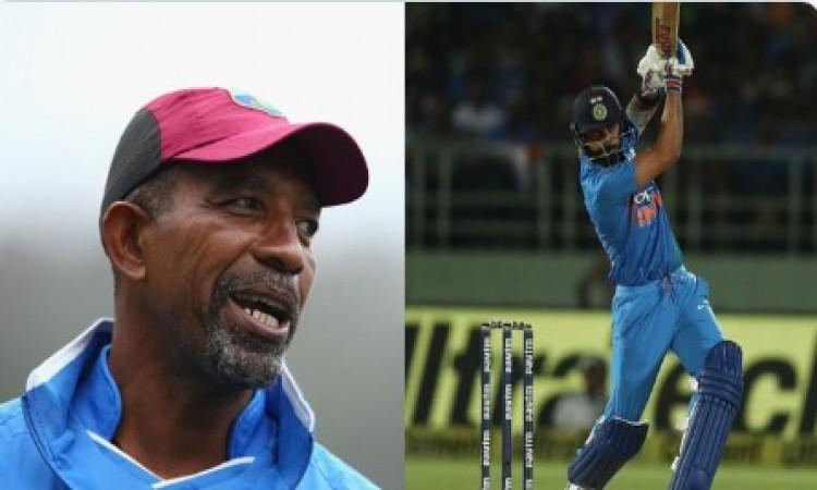 वेस्टइंडीज के कोच फिल सिमंस ने अपने गेंदबाजों से कहा- कोहली से डरने की जरूरत नहीं ! Images