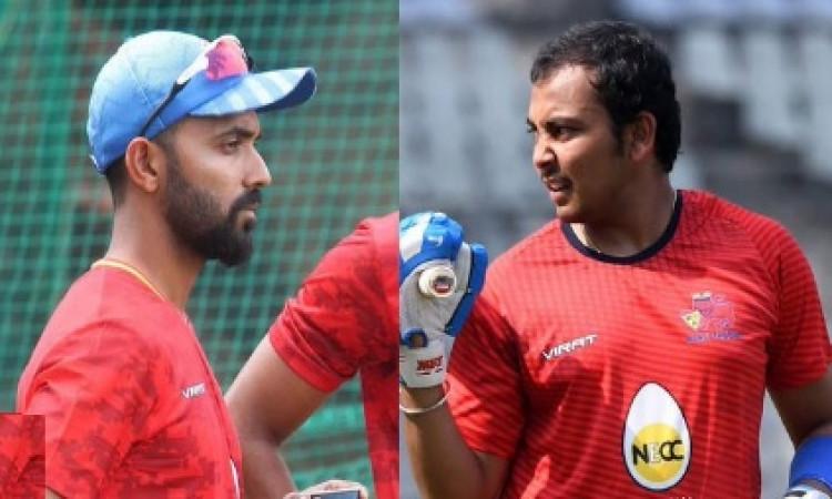 मुंबई रणजी ट्रॉफी में बतौर सलामी बल्लेबाज चुने गए रहाणे, पृथ्वी शॉ ! Images