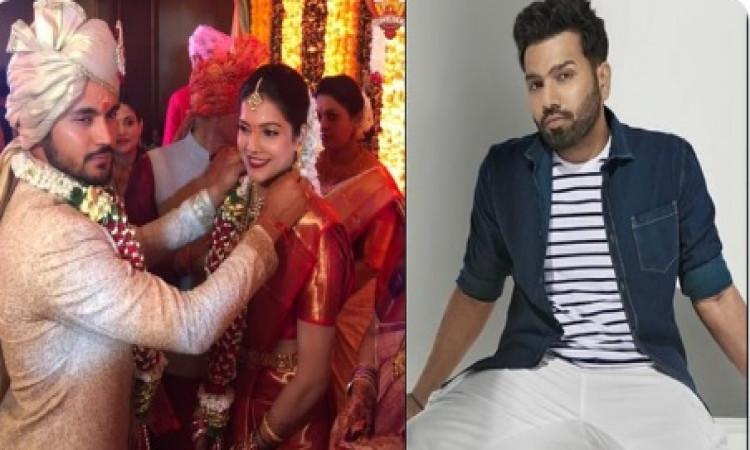 रोहित ने मनीष पांडे को शादी की शुभकामनाएं दी, तुम्हारे लाइफ की सबसे बेहतरीन पारी होगी, मेरा विश्वास