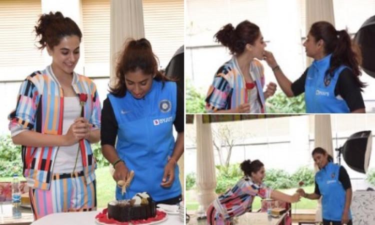 मिताली राज की बायोपिक का हुआ ऐलान, खूबसूरत तापसी पन्नू निभाएंगी उनका किरदार ! Images