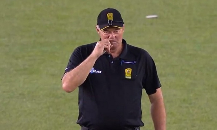 umpire Greg Davidson