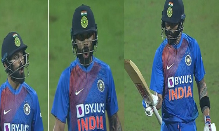 विराट कोहली का धमाका, विरोधी गेंदबाजों पर बरसे, छक्का - चौका जमाकर दे रहे थे ऐसा रिएक्शन Images