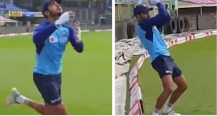 WATCH दूसरे वनडे से पहले मनीष पांडे ने की बेहद ही दिलचस्प तरीके से फील्डिंग की प्रैक्टिस Images
