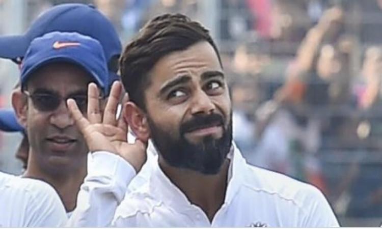 विराट कोहली फिर बने नंबर-1 टेस्ट बल्लेबाज, स्टीव स्मिथ की नंबर 1 की कुर्सी को बनाया अपना ! Images