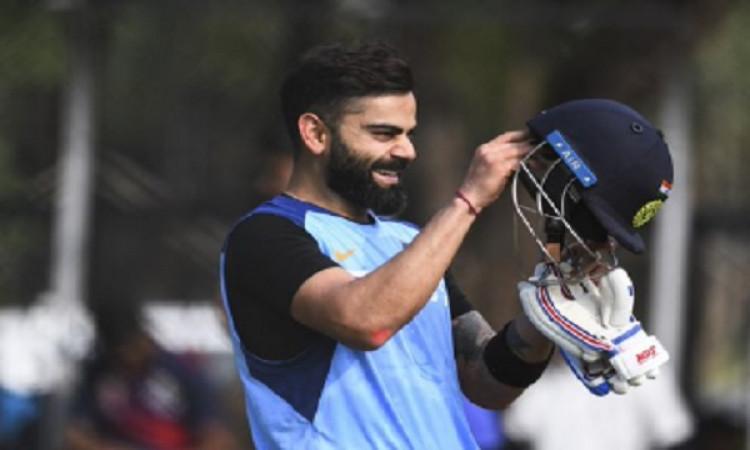 टी-20 रैंकिंग को लेकर भारतीय टीम के बचाव में उतरे विराट कोहली Images