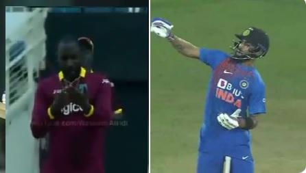 तूफानी बल्लेबाजी करने के दौरान विराट ने मनाया नोटबुक सेलिब्रेशन, मैच के बाद कोहली ने बताया क्यों किय