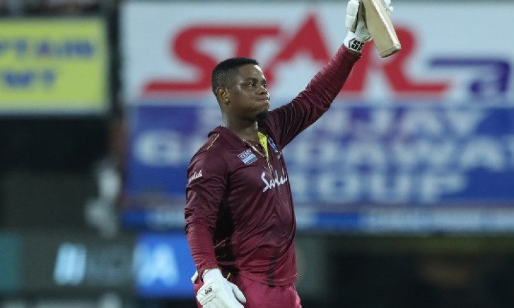 WI beat India by 8 wickets in 1st ODI, Hetmyer, Hope hit tons Images
