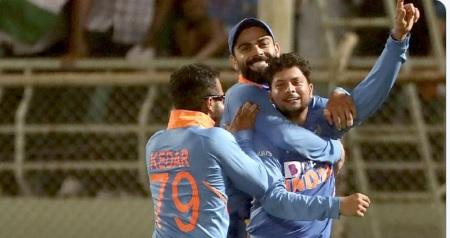 बल्लेबाजी के बाद गेंदबाजों के कमाल से भारत ने दूसरे वनडे में वेस्टइंडीज को दी पटखनी, सीरीज 1- 1 से ब