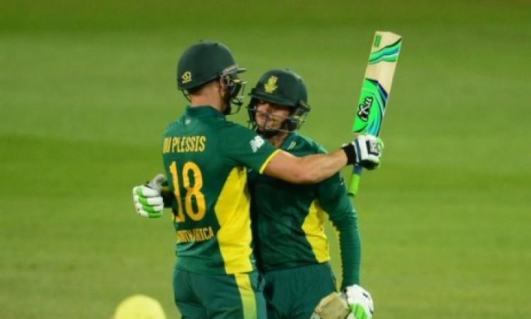 इंग्लैंड के खिलाफ साउथ अफ्रीकी वनडे टीम का ऐलान, फाफ डु प्लेसी को टीम से बाहर किया गया Images