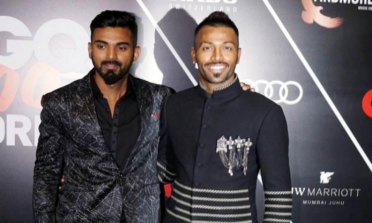 Hardik Pandya and KL Rahul