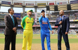 India vs Australia 2nd ODI toss