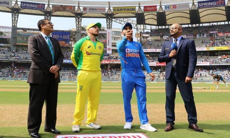 India vs Australia Toss